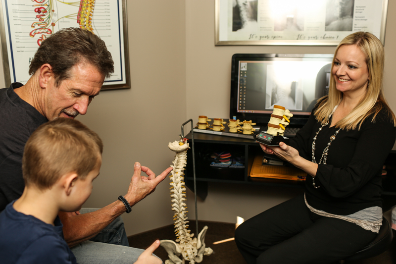 Consultation at Health and Healing Family Chiropractic